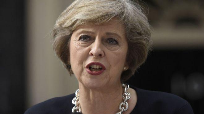 メイ英国首相