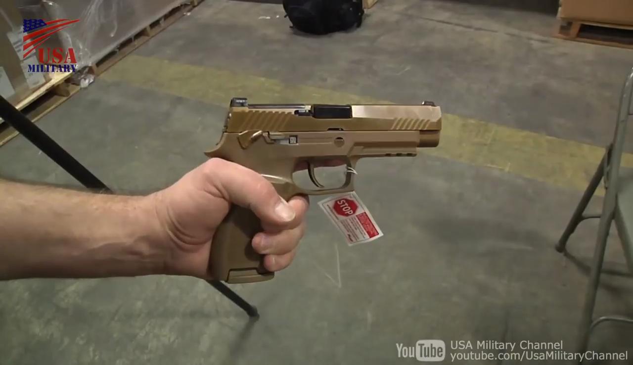 米軍の新型の制式拳銃M17&M18(SIG SAUER P320)の配備が始まっている模様